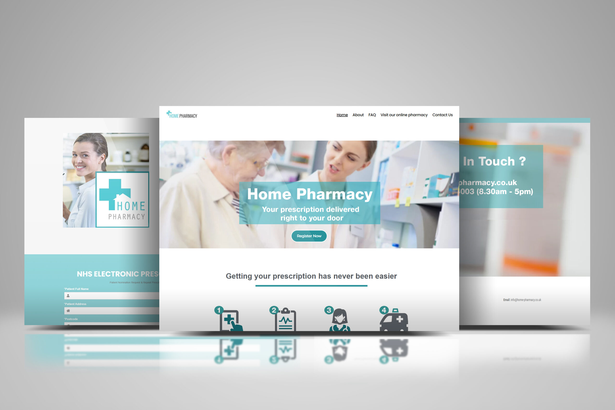 Home Pharmacy Register